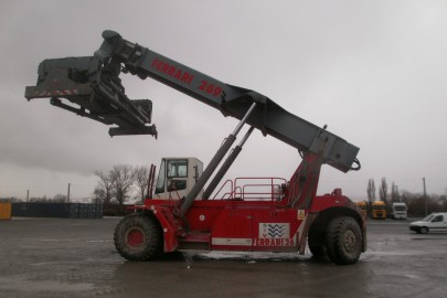 Máquina Reachstacker 46 Tm de SIB Port